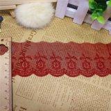 Guarnição nova do laço do T/C do bordado do projeto para os vestuários & Matérias têxteis Home & Cortinas acessórias