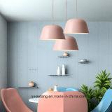 Nordeuropa-moderne hölzerne Farbe für Leuchter-hängende Lampe