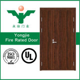 Дверь внешней деревянной виллы гостиницы дверки топки деревянная с сертификатом