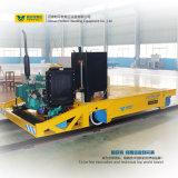 モータートラクターのトレーラーをひっくり返す電気転送のカートを使用して企業
