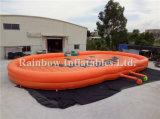 Cuscino di salto gonfiabile del rilievo gonfiabile della zucca di prezzi di fabbrica per Ourdoor/rilievo gonfiabile di salto