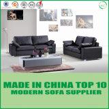 Modernes nordisches Art-weiches Kuh-Leder gepolstertes Sofa