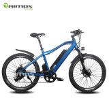 AMS-Tde-11 26 bicicleta elétrica do pneu 1.95 regulares da polegada com bateria escondida
