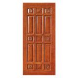 Porte en bois intérieure avec la qualité, modèle classique, bon prix