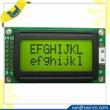 Het weerspiegelende 8X2 Scherm van de Vertoning van Stn LCD van het Karakter voor Instrumenten en Meters