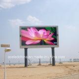 Outdoor DIP P16 Display de cor completa LED 256X256mm RGB Color LED TV Publicidade Display Shenzhen LED