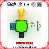 Металл, скольжение мебели LLDPE пластичное напольное с качанием