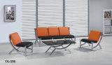 Sofá moderno do escritório do assento da recepção do escritório do projeto atrativo vermelho para a venda