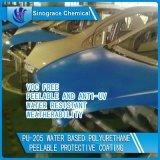 Enduit provisoire PU-205/C de polyuréthane résistant de Weatherability