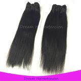 Шелковистые прямые волосы девственницы Remy перуанские людские