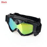 Lunettes de neige de ski d'appareil-photo de la CE ou de caméra vidéo de Sunglass HD de lunettes de Moto
