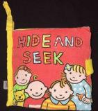 귀여운 아기 아이들 교육 견면 벨벳 책
