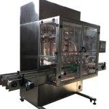 Petróleo automático cheio da água da máquina de enchimento que enche-se e máquina de etiquetas