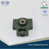 Rodamiento UCT201 del bloque de almohadilla del arrabio de gris del acerocromo hecho en China