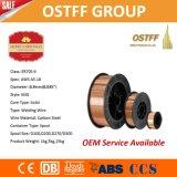 0.035 '' 33 Lbs провода заварки Er70s-6 MIG СО2 катышкы пакета D300 пластичного