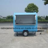 이동할 수 있는 음식 트럭 간이 식품 손수레 (SHJ-MFR220B)