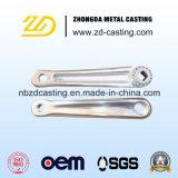 Pièce en aluminium de pièce forgéee d'OEM pour les pièces compactes d'entraîneur