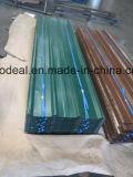 Azulejo de azotea de acero revestido del color