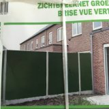 Filet plastique vert extérieur pour la frontière de sécurité et la protection