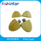Vara de madeira do USB do disco de bambu da memória Flash USB3.0 do USB