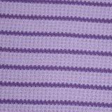 衣類のための綿またはスパンデックスの縞のワッフル