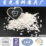 99.5% Alumina fundida branca abrasiva e refratária de Al2O3
