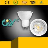 GU10 la lumière d'ampoule de projecteur de l'ÉPI DEL 7W refroidissent la lumière