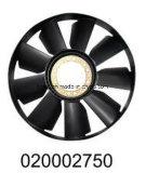 Pale de ventilateur D704mm pour l'engine de camion de Kamaz