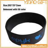 Personalizado Silicone Pulseira com palavras da impressão (YB-SW-07)