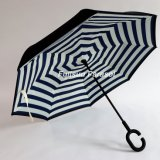 رخيصة [ستريغت] سيدة يمطر مظلة لأنّ مظلة عكسيّة