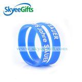 Wristband impresso ecologico del silicone di vendita calda per il regalo