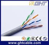 Cable de LAN de interior caliente de la exportación 25AWG CCA UTP Cat5e de China (GHTNC001.3)