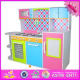 Игрушка установленное W10c100 кухни 2016 оптовых малышей способа деревянная самомоднейшая