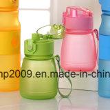 бутылка воды способа 580ml, пластичная бутылка воды спорта, голубая выпивая бутылка (hn-1609)