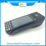 Terminal portátil do pagamento, posição móvel, leitor de cartão do crédito