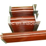 Marco de acero inoxidable Tubo de cobre Tubo de cobre Condensador