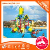 Juegos del parque del agua de la fibra de vidrio de los niños de los nuevos productos para la piscina