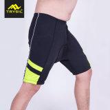 6 calças de ciclagem apertadas das cores com tela Elevado-Elástica