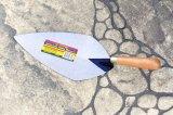 """8 """" Trowels aguzzi medi di lavoro di muratura del acciaio al carbonio con la maniglia di legno"""