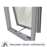 Precio moderno de los marcos de ventana de aluminio de la casa de la doble vidriera para la ventana del toldo