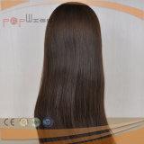 Горячие продавая человеческие волосы 100% Я-Наклоняют парики падения самого лучшего качества человеческих волос еврейские законченный