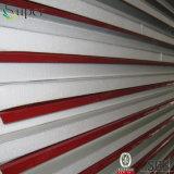 백색 그려진 색깔 물결 모양 EPS 샌드위치 위원회 절연제 벽면