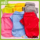Polo Polo Chemise Pure Color Vêtements pour animaux de compagnie