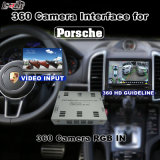 PCM 4.0 시스템 Lvds RGB 신호 입력 던지기 스크린을%s 가진 Porsche Macan Panamera Cayenee etc.를 위한 뒷 전망 & 360 Panorama 공용영역
