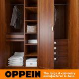 Wardrobe articulado da grão de Oppein melamina de madeira (YG16-M13)