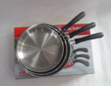 Лоток /Fry сковороды нержавеющей стали в различном размере