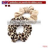 Regalo di natale delle trecce degli elastici degli elastici dei monili dei capelli migliore (P3020)