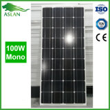 Mono панель солнечных батарей 100W для солнечной домашней системы