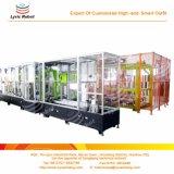 Primera cadena de producción automática casera del compartimiento de basura