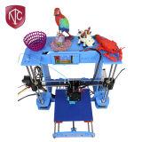 Принтер высокой точности 3D пульта управления Китая горячий продавая франтовской с синью одним